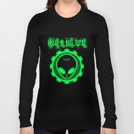 Believe Alien Fact Long Sleeve T-shirt