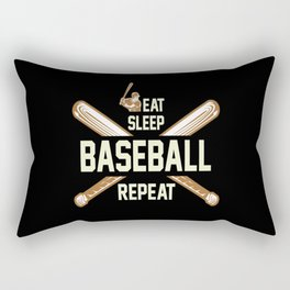 Baseball Rectangular Pillow