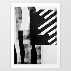 Monotype I Art Print