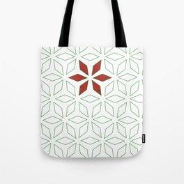 Christmas stars minimal Tote Bag