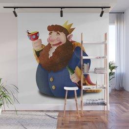Rey de copas Wall Mural