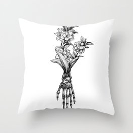 In Bloom #01 Throw Pillow