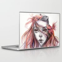 fight Laptop & iPad Skins featuring Fight by Koanne Ko
