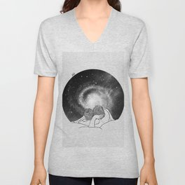 Our imaginary night. Unisex V-Neck