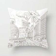 LA Throw Pillow