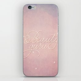 Beauty Guru iPhone Skin