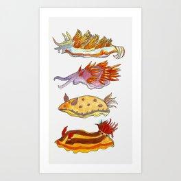 Sea Slug Art Print