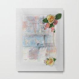 Only A memory No. 20 by Kathy Morton Stanion Metal Print