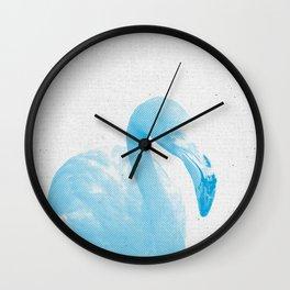 Flamingo 04 Wall Clock