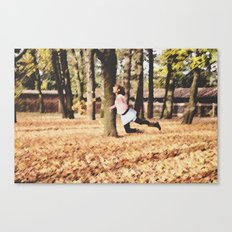 Floating On a Breeze Canvas Print