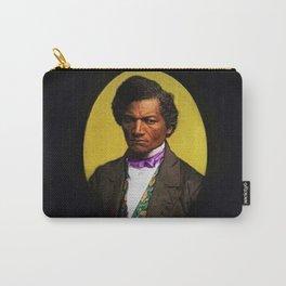 African American Portrait 'Frederick Douglas' by Jeanpaul Ferro Carry-All Pouch