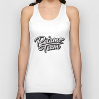 team fortress Tank Tops featuring Team by MRM Fashion Graphic Studio