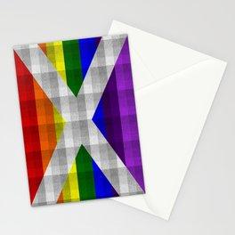 Saltire Duncarron Rainbow Plaid Stationery Cards
