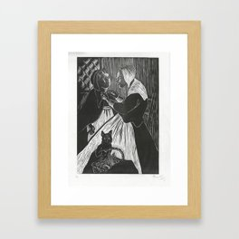 Heading Out For Salem Framed Art Print
