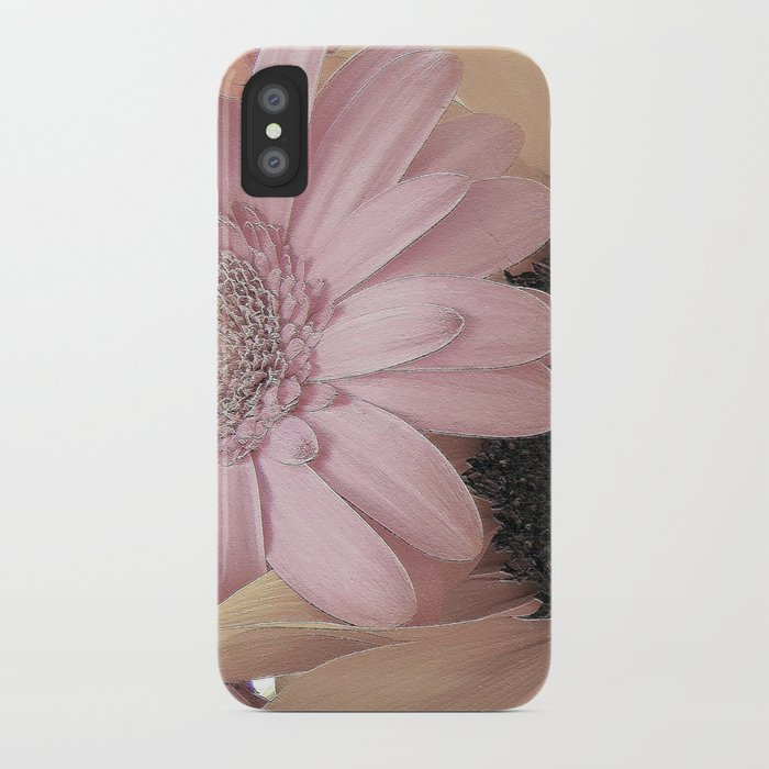 Daisy Sings the Pinks iPhone Case