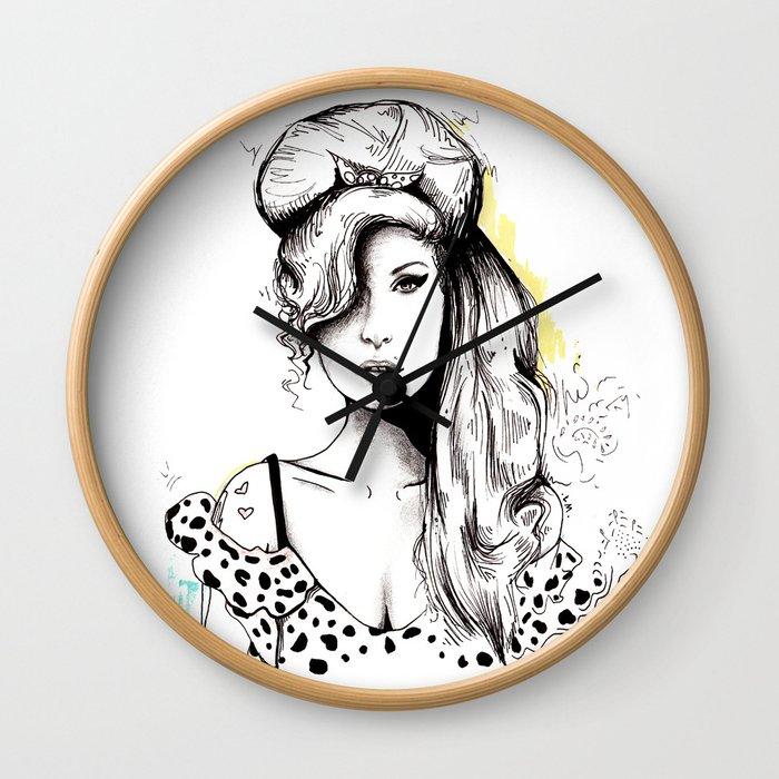 Amy Amy Amy Wall Clock
