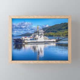 Corran Ferry 3 Framed Mini Art Print