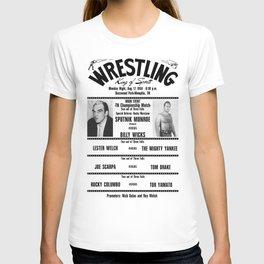 #12 Memphis Wrestling Window Card T-shirt