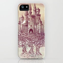 Castle in the Trees iPhone Case