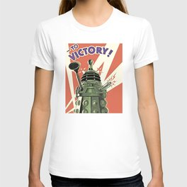 Daleks To Victory - Doctor Who T-shirt