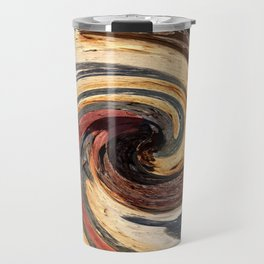 Swirl 07 - Colors of Rust / RostArt Travel Mug
