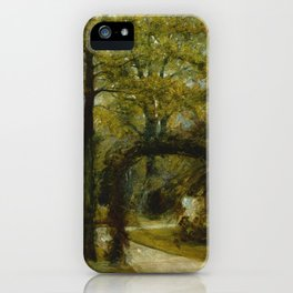 "John Constable ""Parkfield Place, near Ipswich"" iPhone Case"