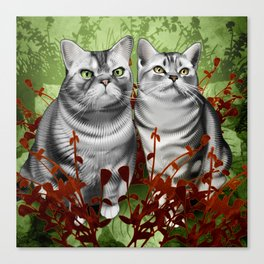 Perry and Monty Canvas Print