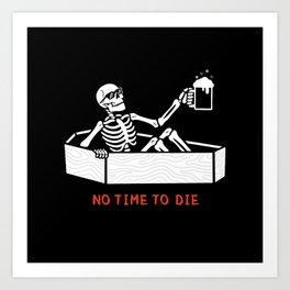 No Time to Die Art Print