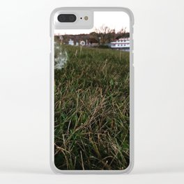 Showboat Wishes Clear iPhone Case