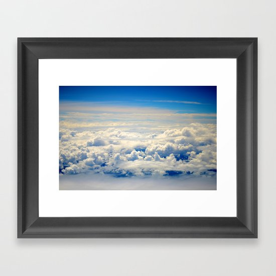 When I Had Wings I Framed Art Print