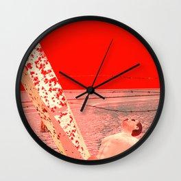 Squared: Nailed Hard Wall Clock