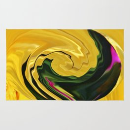 Swirling Colors Rug