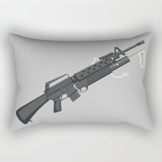 Say Hello to My Little Friend Rectangular Pillow