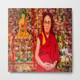 Love Dalai Lama Metal Print