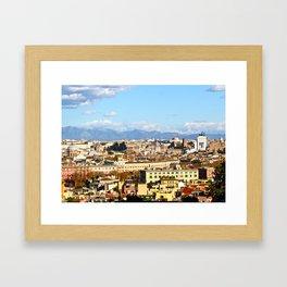 Rome: Skyline Framed Art Print