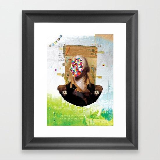 Shock Framed Art Print