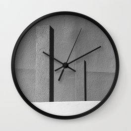 Concrete Posts 2 Wall Clock