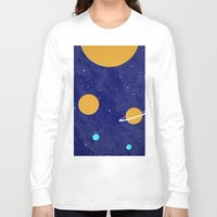 solar system Long Sleeve T-shirts featuring Solar System by Quinn Shipton