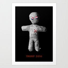 I Pledge to Trump. Art Print