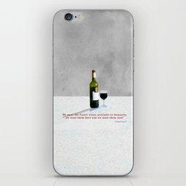 Glass of Wine iPhone Skin