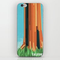 california iPhone & iPod Skins featuring California by AtomicChild