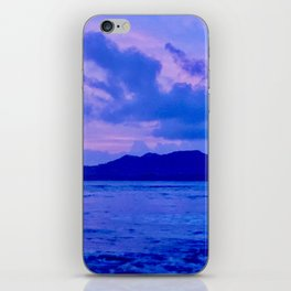 Blue Mountain Shore iPhone Skin