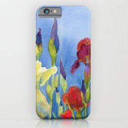 Blue Skies and Happiness iPhone Case