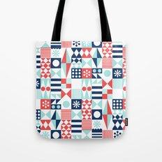 Tradewinds navy Tote Bag
