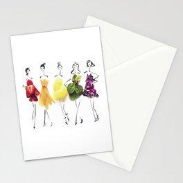 Edible Ensembles: Rainbow Stationery Cards
