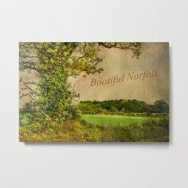 Bootiful Norfolk Metal Print