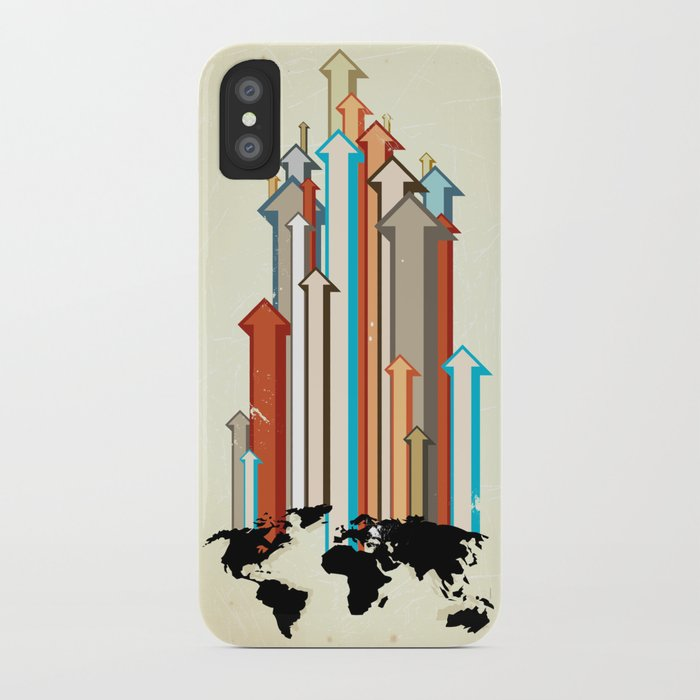 "Glue Network Print Series ""Economic Development"" iPhone Case"