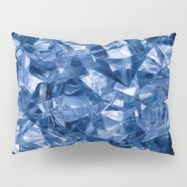 Crushed ice background Pillow Sham