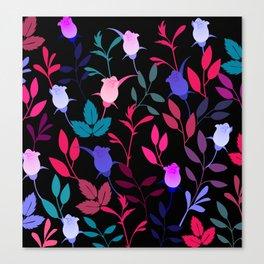 Flower Pattern XVI Canvas Print