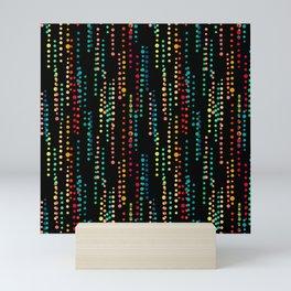 Drops of Dots Mini Art Print
